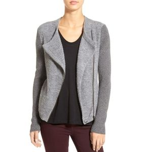 Caslon Sweaters - caslon ∙  mixed knit moto sweater